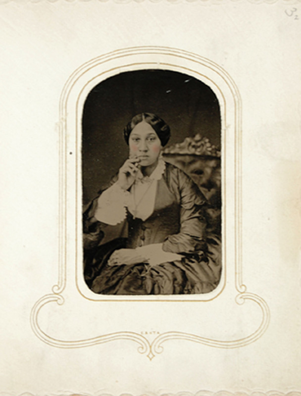 1.13. Arabella Chapman. Tintype.