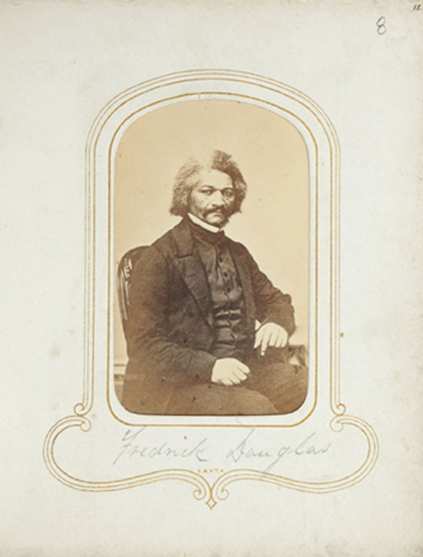 1.33. Frederick Douglass. McDonald & Sterry, Albany, NY. CDV.