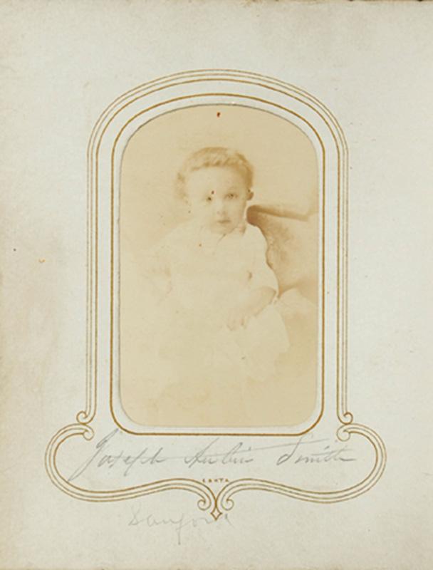 1.34. Joseph Aubin Smith. MCDonald & Sterry. CDV.