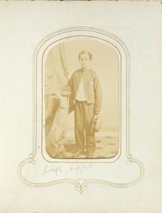1.41. Staff Lippert.  Denison's, Albany, NY. CDV.