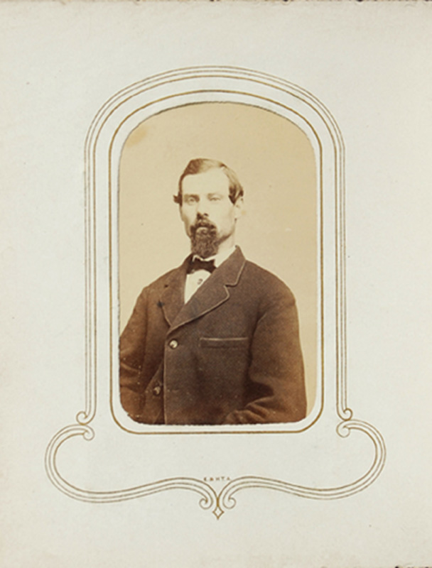 1.52. Man with goatee. CDV.