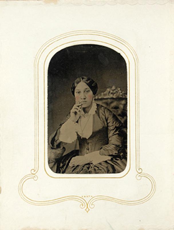 1.60. Arabella Chapman. Tintype.