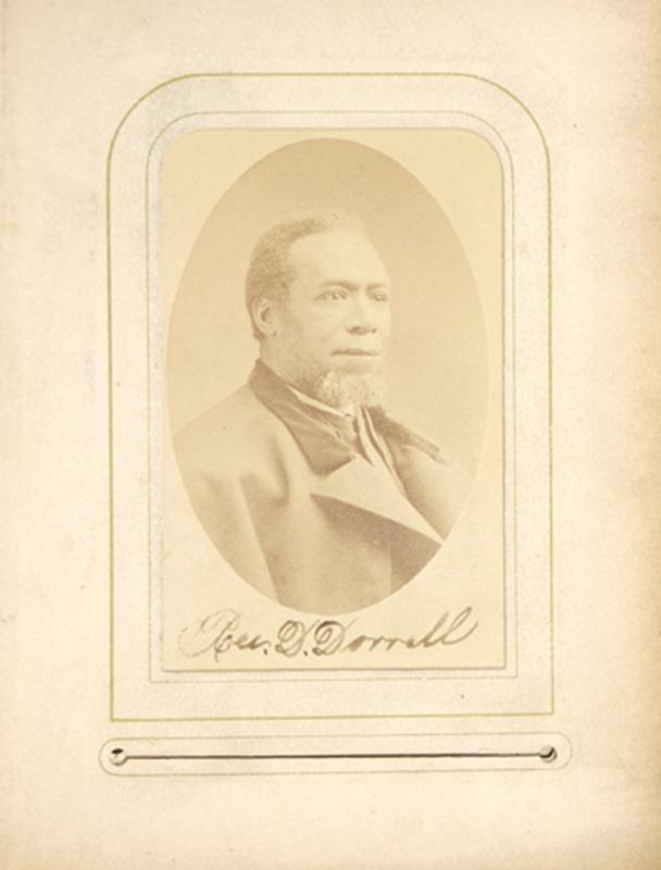 2.05. Rev. D. Dorrell. W.G. Tyrell, NYC. CDV.
