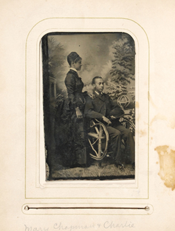 1.10. Charles & Mary Chapman. CDV.