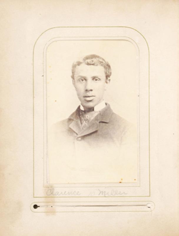 2.14. Clarence Miller. McDonald & Sterry, Albany, NY. CDV.
