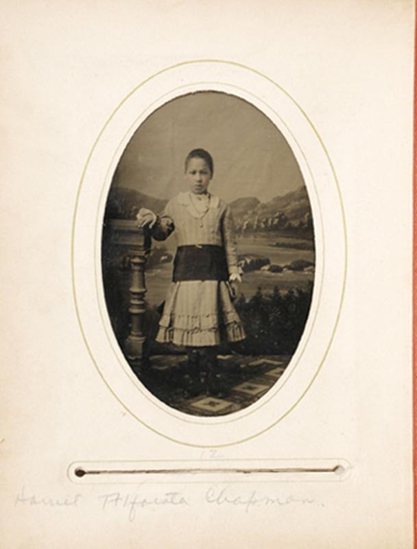 2.16.  Harriet Alfarata Chapman. Tintype.