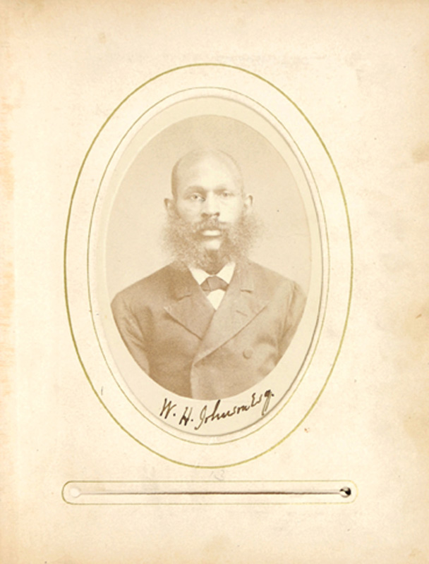 2.17. William H. Johnson. CDV.