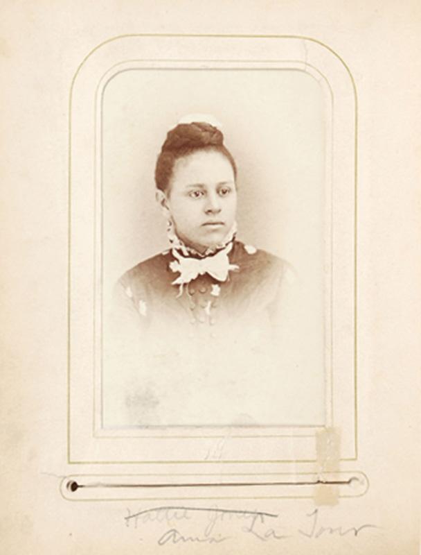 2.18. Anna LaTour. Baker & Record. Saratoga Springs, NY. CDV.