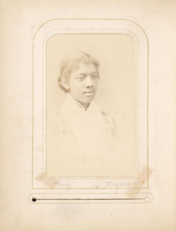2.20. Liz Myers. Rabineau, Albany, NY. CDV.