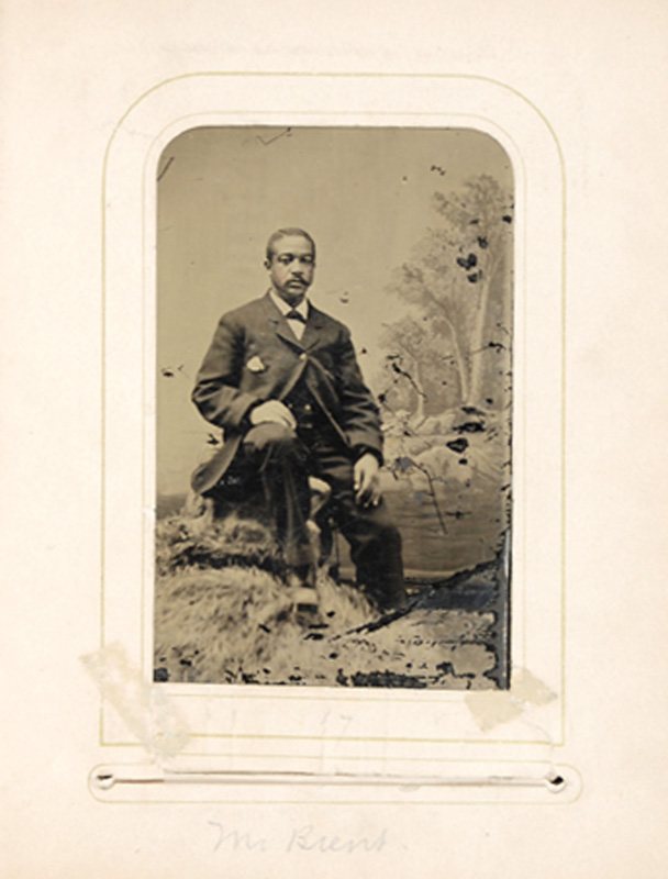 2.21. William Brent. Tintype.