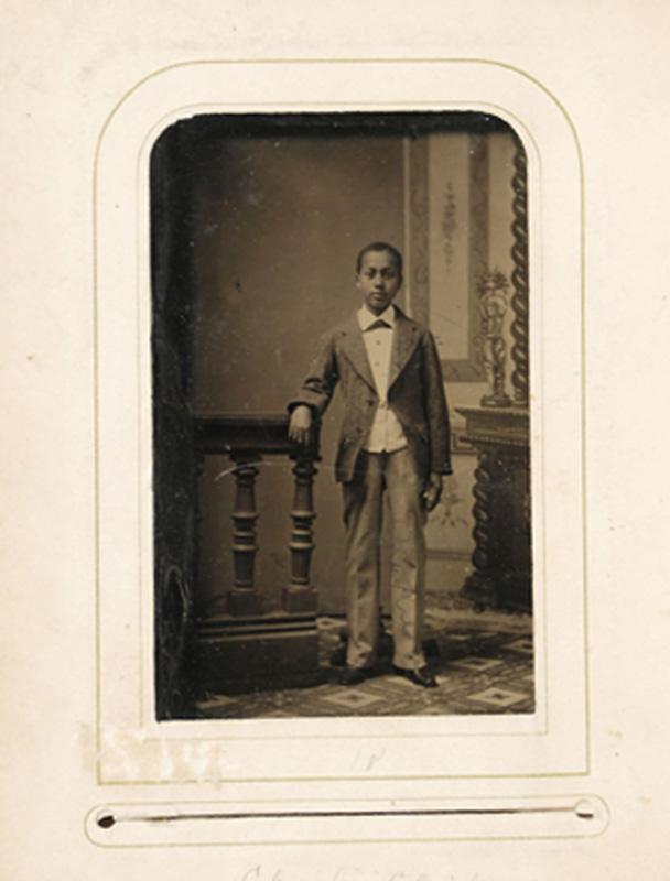 2.22. Charles Chapman. Tintype.