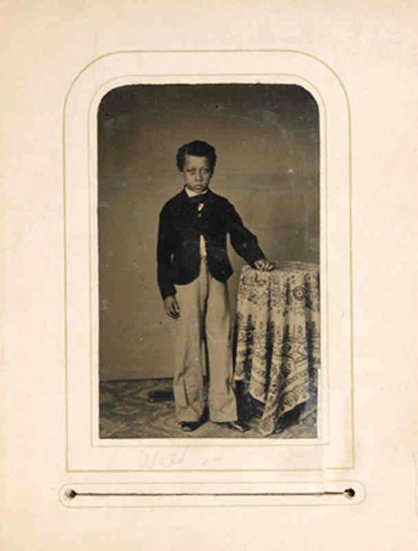 2.23. William Chapman. Tintype.
