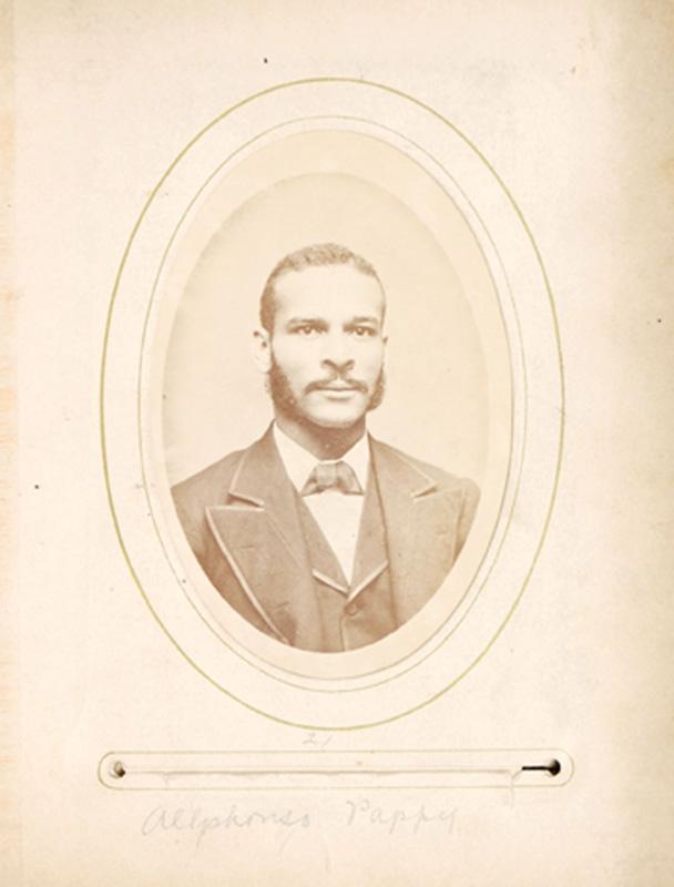 2.25. Alphonso Pappy. Thomas Moore, NYC. CDV.