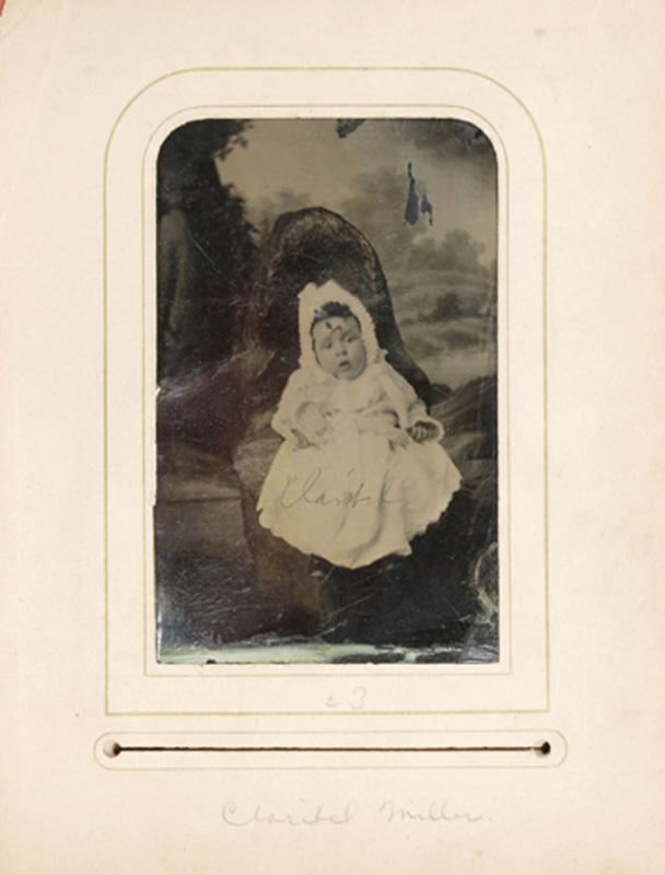 2.27. Claribel Miller. Tintype.