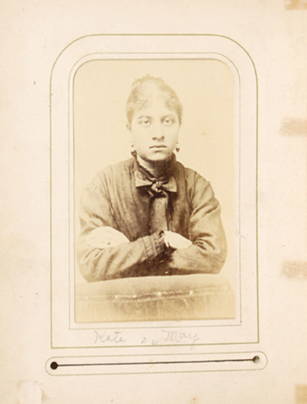 2.28. Kate May. McDonald & Sterry, Albany, NY. CDV.