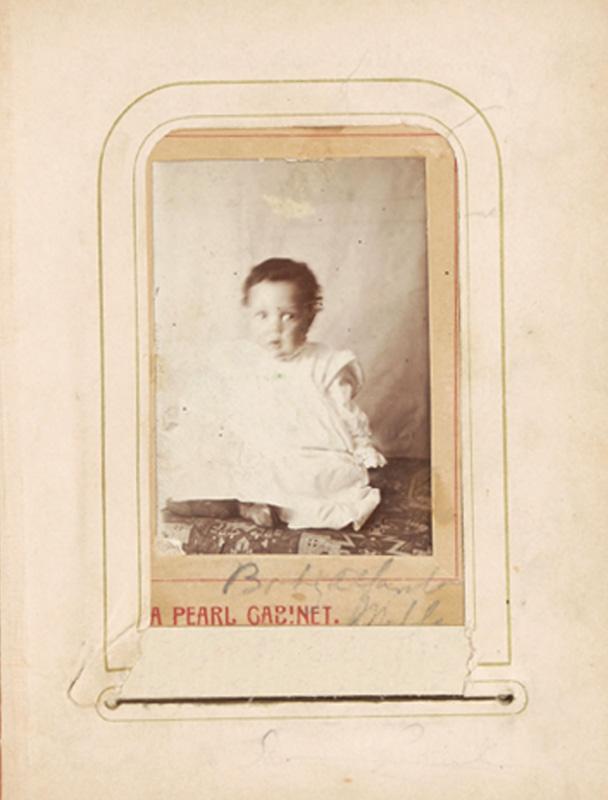 2.31. Carroll Alfarata Miller. Pearl Cabinet. CDV.