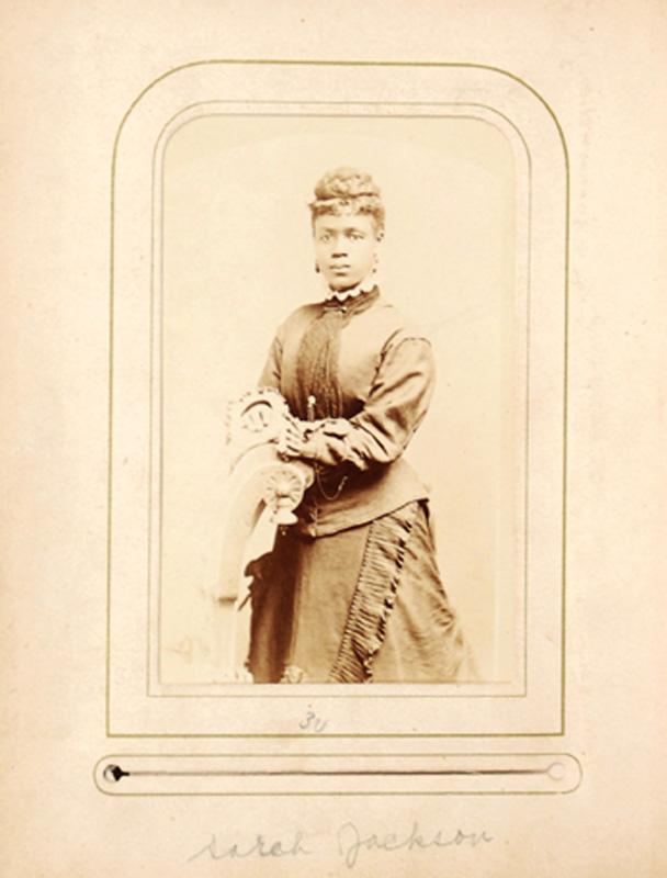 2.34. Sarah Jackson. Mosher, Albany, NY. CDV.