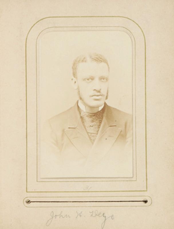 2.35.  John H. Dego. G.A. Mosher, Albany, NY. CDV.