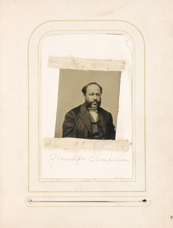 2.37. John Chapman, Sr., Tintype.