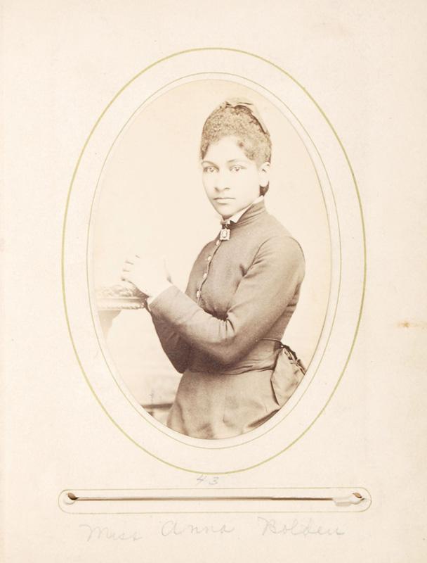 2.47. Anna Bolden. McDonald & Sterry, Albany, NY. CDV.
